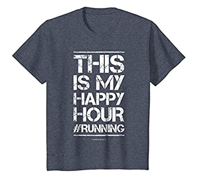 Funny Running T-Shirts This Is My Happy Hour TShirt