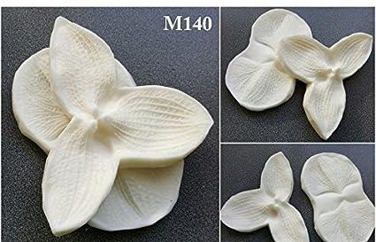 Foam Flower Making Polyresin Mold 140 - Set of 2 (Big!!!) 10cms x