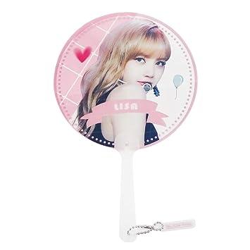 Buy Bonbela Kpop Blackpink Handheld Transparent Fan Printed Hand
