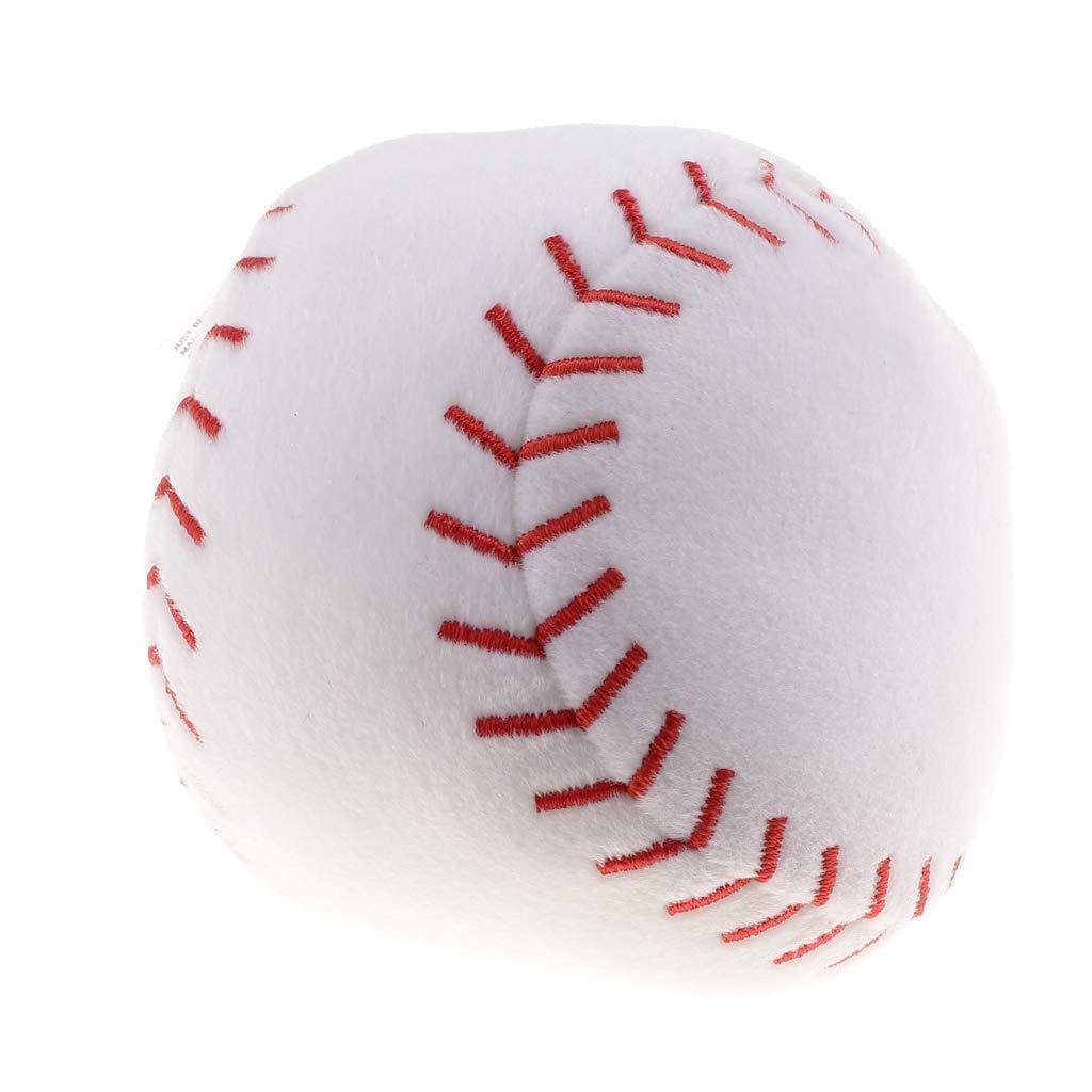 Fenteer Babyball Rasselball Stoffball Softball mit Glocken
