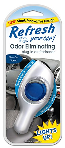 Refresh Your Car! 09602 Power Plug-In Air Freshener, New - Air Freshener Refillable