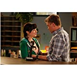 Awkward Ashley Rickards as Jenna Hamilton and Brett Davern as Jake Rosati looking in each others eyes 8 x 10 Inch Photo