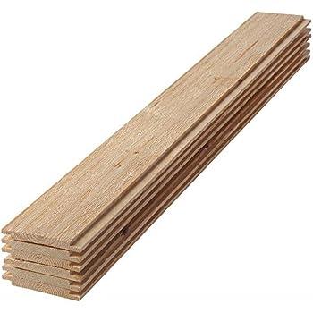 Amazon com: Primed Pine Nickel Gap Ship Lap Board (6-Pieces