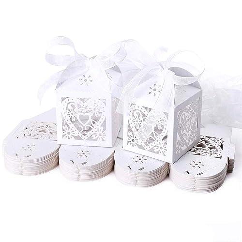Wedding Favours Boxes Amazoncouk