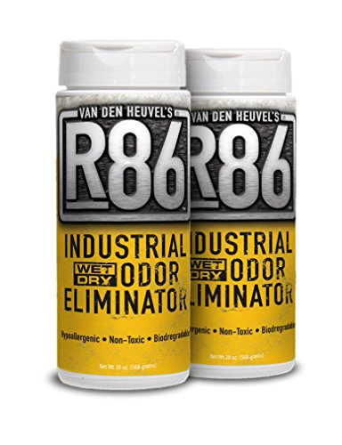 Van Den Heuvel's R86 Industrial Odor Eliminator - Ideal for Skunk Odor Removal, Pet Odor Removal and as an All Purpose Odor Neutralizer (The Best Skunk Odor Removal)