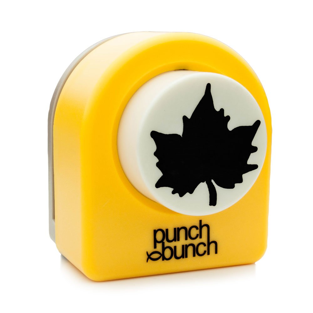 Punch Bunch Large Punch, Maple Leaf
