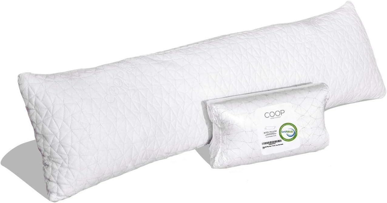 Almohada de Cuerpo Entero con Cubierta De Viscosa