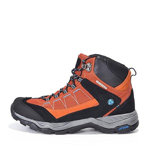 Schiff in Wüste, Herren Trekking und Wandern Wasserdicht Schuhe Orange - orange