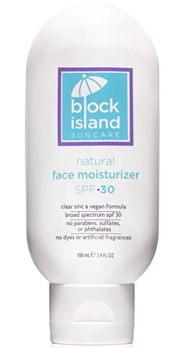 The Natural Face Moisturizer SPF 30 travel product recommended by Will von Bernuth on Pretty Progressive.