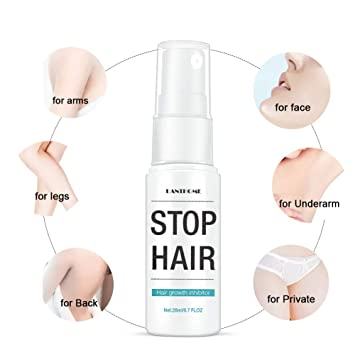 Amazon Com Natural Hair Growth Inhibitor Spray Permanent Stop