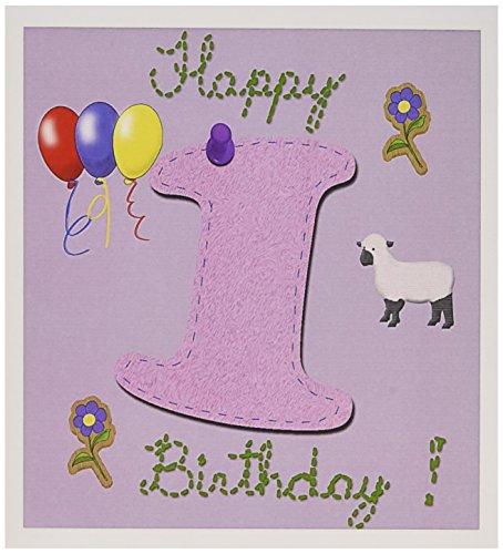 Happy first birthday design number