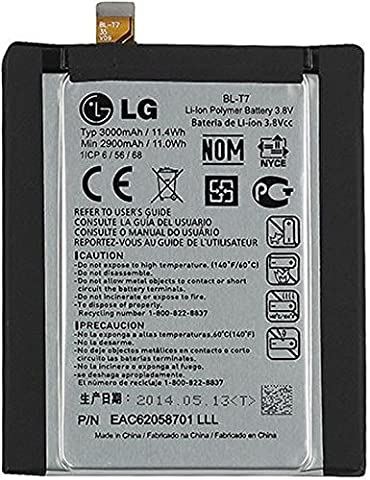 LG Internal Battery G2 Original OEM - Non-Retail Packaging - Grey (Att Lg G2 Phone)