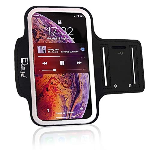 RevereSport iPhone XR Armband. Sports Phone Case Holder for Running, Gym Workouts & Exercise