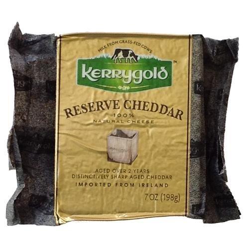 (Kerrygold Reserve Irish Cheddar Distinctively Sharp Aged Cheddar)