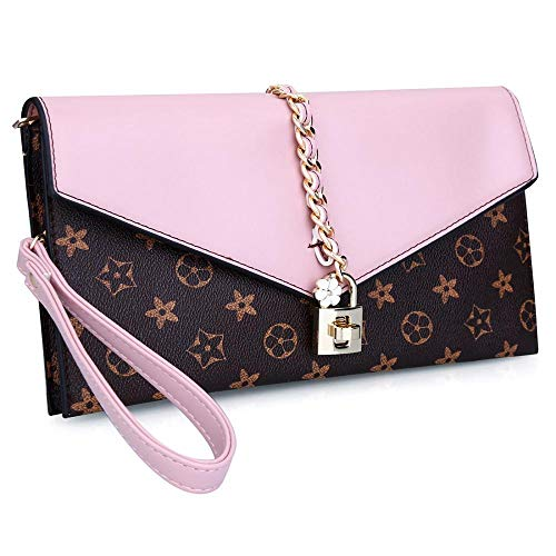 Arrival Designer Clutch Evening Wristlet Handbag Oversized Flower Women Lock Evening Pink with New Bag Onorner xpzvCqw7B