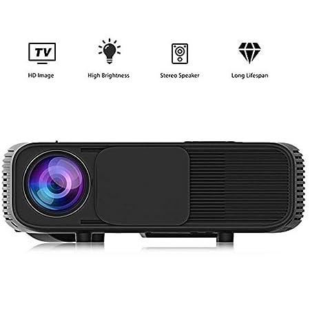 Mini proyectores Mini proyector portátil, 3000 lúmenes LED Micro ...