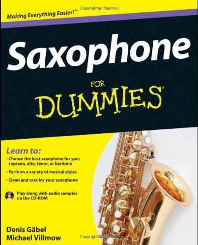 Amazon Saxophone For Dummies 9781118084878 Denis Gbel