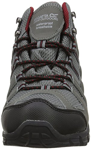 Regatta Garsdale Mid - High Rise Hiking de sintético hombre gris - Grey (Charc/Rhured)