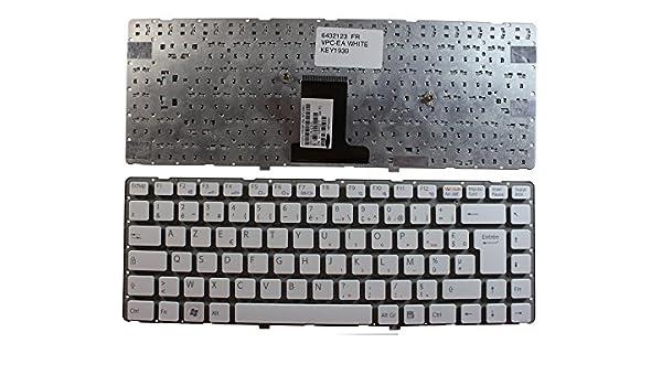 Keyboards4Laptops Sony Vaio VPCEA27FL Blanco Layout Francés Teclado de Repuesto para Ordenador portátil: Amazon.es: Electrónica