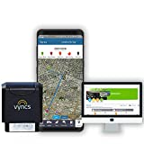 GPS Tracker Vyncs No Monthly Fee OBD, Real Time 3G Car GPS Tracking Trips Free 1 Year Data Plan Teen Unsafe Driving Alert Engine Data Fleet Monitoring Fuel Report Optional Roadside (Black, 2.56) For Sale