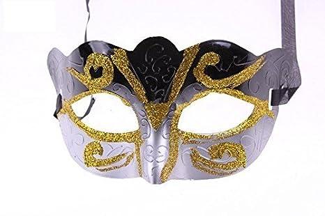 PLATA/DORADO / Negro Máscara Shihan Veneciano Mardi Gras ...