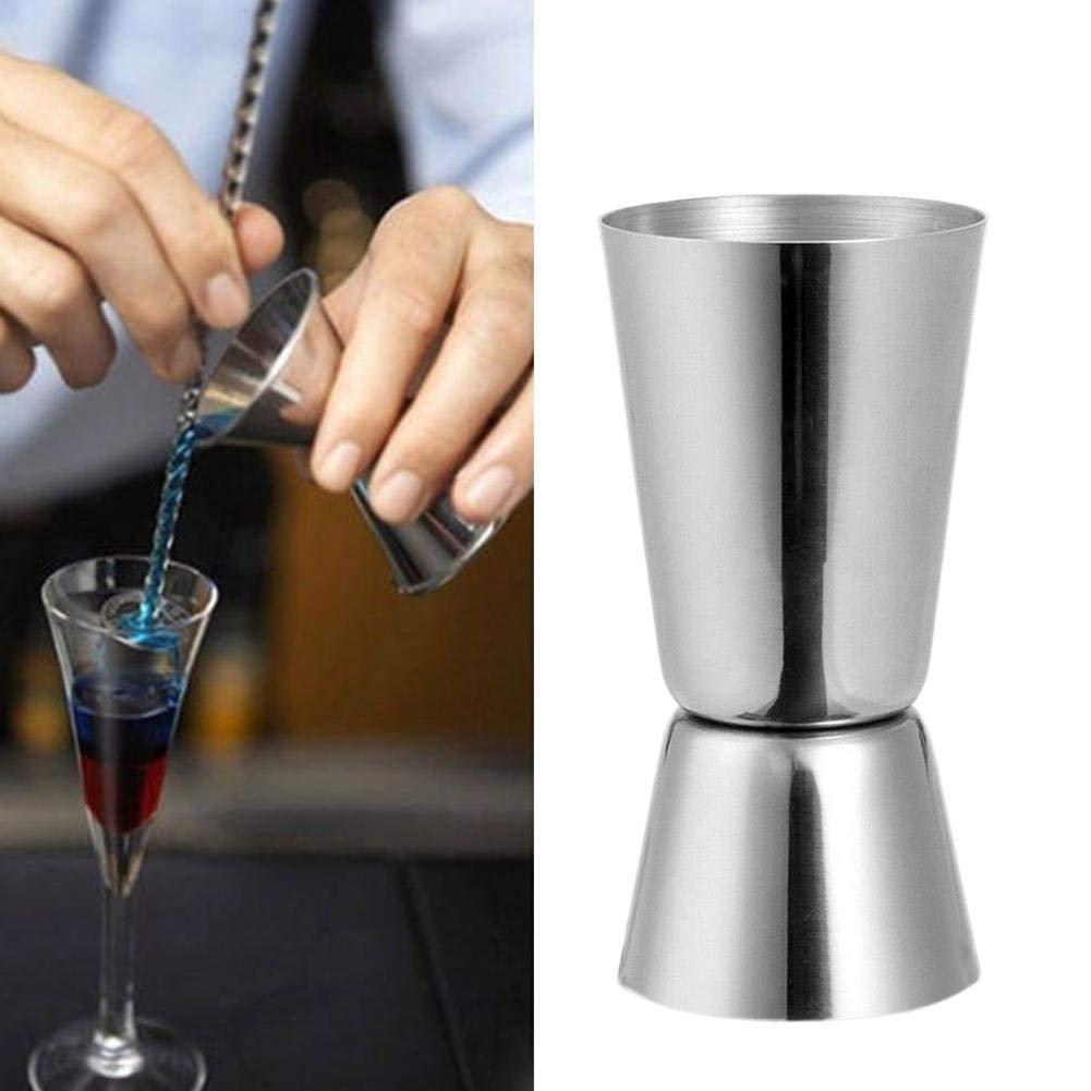 Snow Island Misurino doppio in acciaio INOX per liquori e cocktail