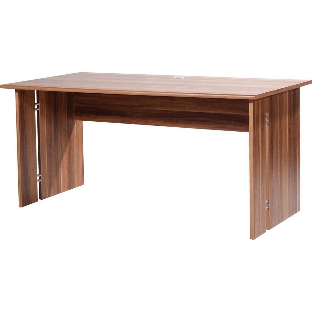 iovivo Lincoln con especial para escritorio, color nogal ancho 160 ...
