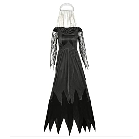 ABCDE Diablo Sexy Mujer Disfraz de Novia Vampiro Disfraz de ...