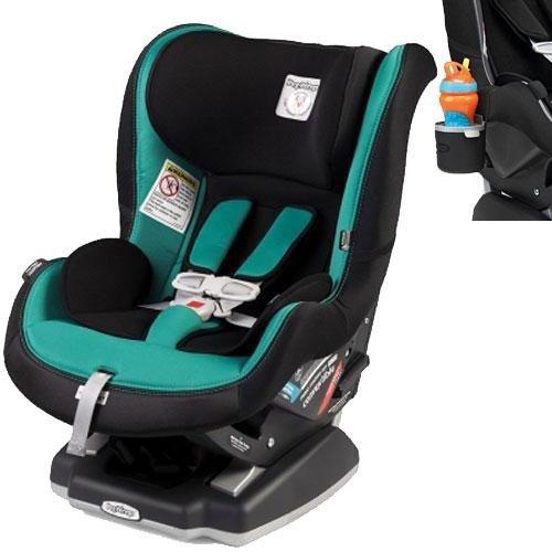 Peg Perego - Primo Viaggio Convertible Car Seat with Cup Holder - Aquamarine