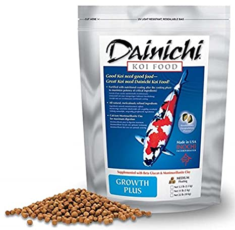 Amazon.com: dainichi Koi – Bolsa de growth-plus (5,5 Lb ...