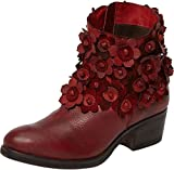 Sheridan Mia Womens Saffron Western Boot Red Size 38 EU (7.5-8 M US Women)