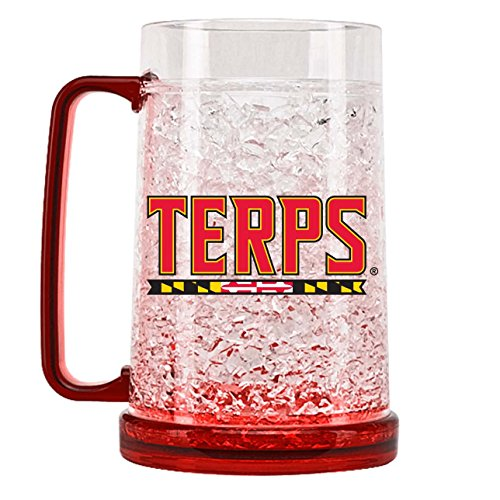 NCAA Maryland Terrapins 16oz Crystal Freezer Mug