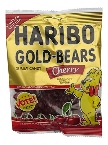 haribo-gold-bears-gummi-candy-limited-edition-cherry-flavor-4-ounce-bag