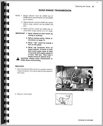 John Deere 4640 4840 Tractor Operator Manual