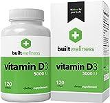 Built Wellness Vitamin D3 Supplement, 5,000 iu, 120 Softgels Review