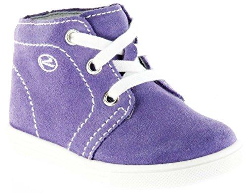 Richter Kinder Lauflerner Velourleder lila Mädchen-Schuhe 0126-141-4000 lavender Sing, Farbe:violett;Größe:23