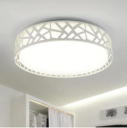 Cdbl -Lámpara de Techo Luz de Techo LED Redonda Blanca ...