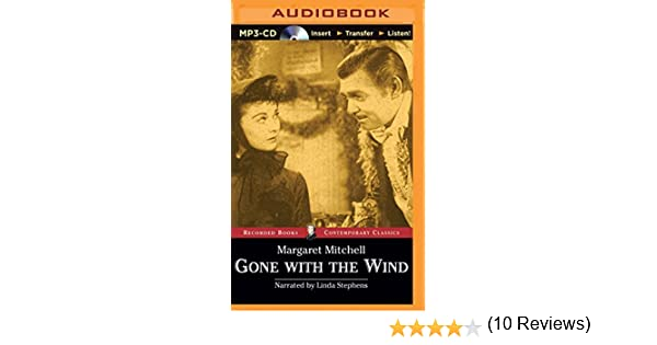 Gone With the Wind Recorded Books Contemporary Classics by Margaret Mitchell 2015-06-23: Amazon.es: Margaret Mitchell: Libros