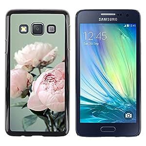 iKiki Tech / Estuche rígido - Bouquet Flowers Floral Pink - Samsung Galaxy A3 SM-A300