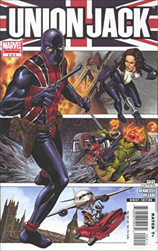 - Union Jack (2nd Series) #2 VF/NM ; Marvel comic book