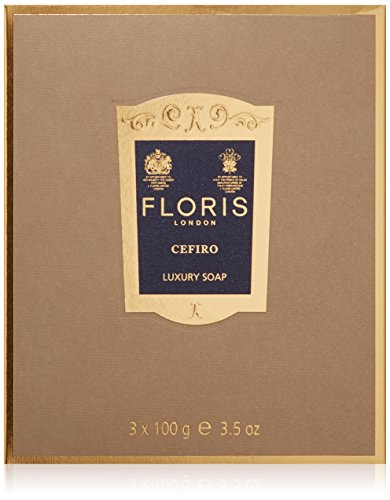 Floris London Cefiro Luxury Soap, 3.4 oz