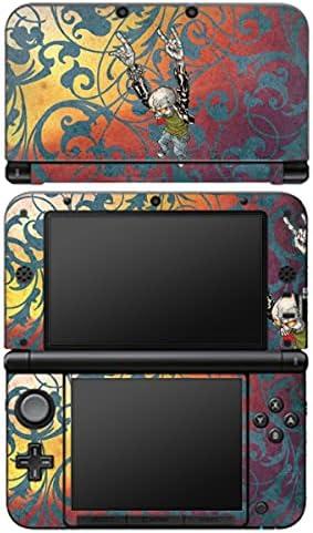 Design folie compatibel met Nintendo 3 DS XL Designskin Vinyl Stickers Rock Ornamenten Doodskop