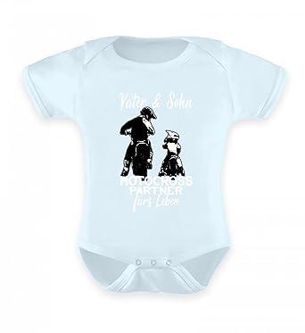 pretty nice ae0e7 108d7 Hochwertiges Baby Body - Motocross Papa Shirt · Motorrad ...