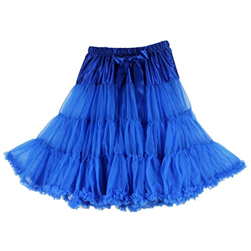 Dguisement mousseline Bleu Roi 63 jupon Tulle Bleu fte cm Jupe Buenos Ninos pour en tutu sexy douce Jupe fqxp7Ra