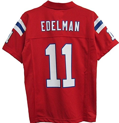 julian edelman jersey red youth
