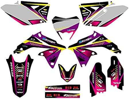 Surge Black Base Graphics Kit 2011-2020 RMX 450Z Senge Graphics Compatible with Suzuki