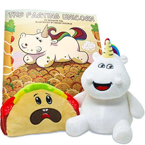 Enchanted Forest Plush (The Farting Unicorn Box Set by Sparkle Farts - Includes 8