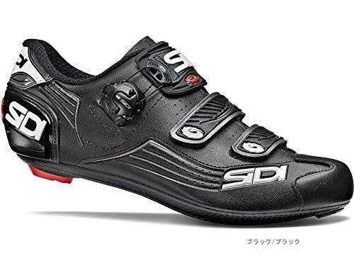 周辺ロマンス黒SIDI(シディ) ALBA(アルバ) <ブラック/ブラック 40> ロードシューズ I80H01046BKBK400