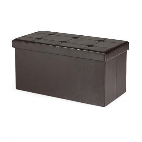 heredeco taburete banco 80 x 40 x 40 cm Caja de ...
