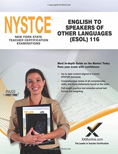 2017 NYSTCE CST English to Speakers of Other Languages (ESOL) (116) by XAMOnline